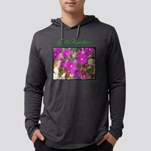 gods wonders - pebble-flowers.pn Mens Hooded Shirt