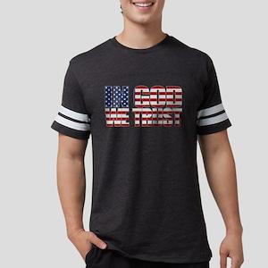 In God We Trust Mens Football Shirt