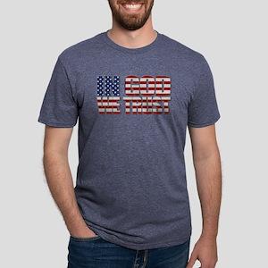 In God We Trust Mens Tri-blend T-Shirt
