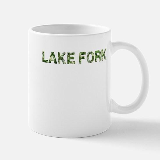 Lake Fork, Vintage Camo, Mug