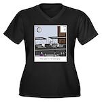 Control Group Mice Plus Size T-Shirt