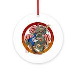 Dragon Bass 02 Ornament (Round)