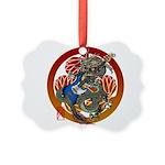 Dragon Bass 02 Picture Ornament