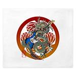 Dragon Bass 02 King Duvet