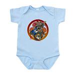 Dragon Bass 02 Infant Bodysuit