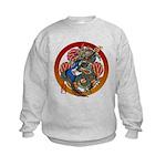 Dragon Bass 02 Kids Sweatshirt