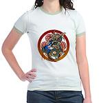 Dragon Bass 02 Jr. Ringer T-Shirt