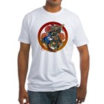Dragon Bass 02 Fitted T-Shirt