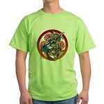 Dragon Bass 02 Green T-Shirt