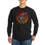 Dragon Bass 02 Long Sleeve Dark T-Shirt