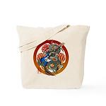 Dragon Bass 02 Tote Bag