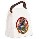 Dragon Bass 02 Canvas Lunch Bag