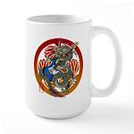 Dragon Bass 02 Large Mug