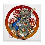 Dragon Bass 02 Tile Coaster