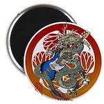 Dragon Bass 02 Magnet