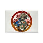 Dragon Bass 02 Rectangle Magnet (100 pack)