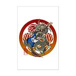 Dragon Bass 02 Mini Poster Print