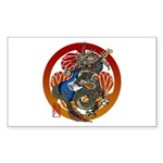 Dragon Bass 02 Sticker (Rectangle 50 pk)