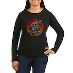 Dragon Bass 02 Women's Long Sleeve Dark T-Shirt