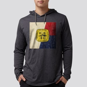 Vintage Memphis Mens Hooded Shirt