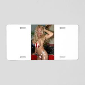 HeidiRae USA Bikini Swimwear Aluminum License Plat