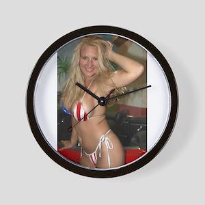 HeidiRae USA Bikini Swimwear Wall Clock
