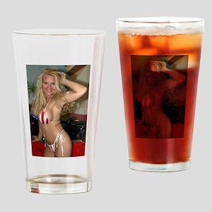 HeidiRae USA Bikini Swimwear Drinking Glass