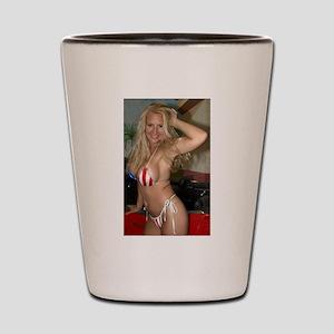 HeidiRae USA Bikini Swimwear Shot Glass