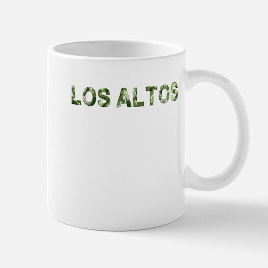 Los Altos, Vintage Camo, Mug