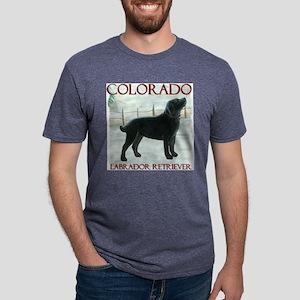 Colorado Labrador Mens Tri-blend T-Shirt
