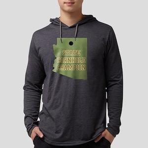 statecornholechamp-arizona-dark. Mens Hooded Shirt