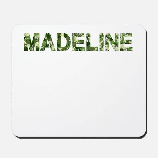 Madeline, Vintage Camo, Mousepad