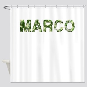 Marco, Vintage Camo, Shower Curtain