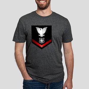 navy_e4_masteratarms Mens Tri-blend T-Shirt