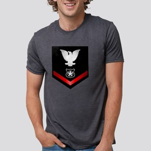 navy_e4_masteratarms_clothi Mens Tri-blend T-Shirt