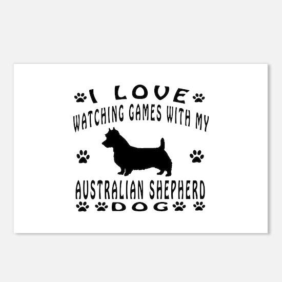 Astralian Shepherd Postcards (Package of 8)