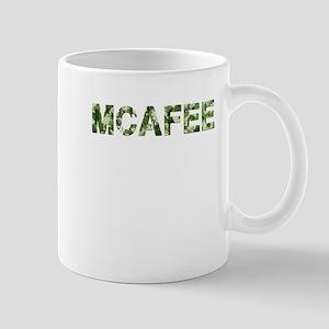 Mcafee, Vintage Camo, Mug
