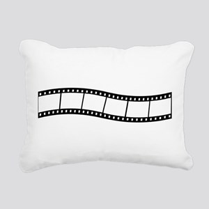 Film Wave 1 Rectangular Canvas Pillow