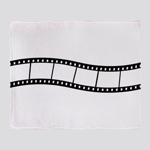 Film Wave 1 Throw Blanket
