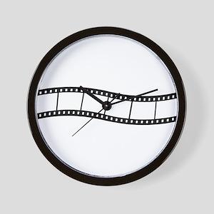 Film Wave 1 Wall Clock