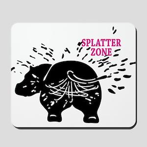 Splatter Zone Mousepad