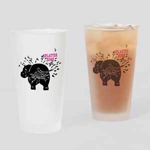 Splatter Zone Drinking Glass