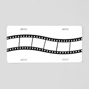 Film Wave 1 Aluminum License Plate