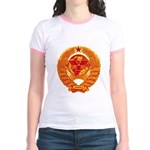 Strk3 World Domination Jr. Ringer T-Shirt