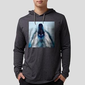 HowlingWolf Mens Hooded Shirt