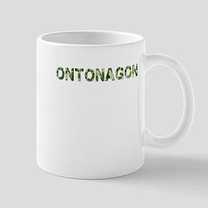 Ontonagon, Vintage Camo, Mug