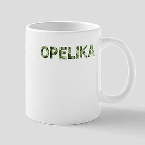 Opelika, Vintage Camo, Mug