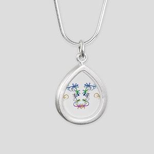 Echsen Silver Teardrop Necklace