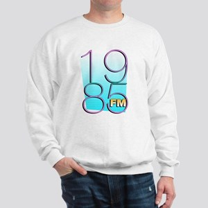 1985FM White Logo Sweatshirt