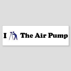 I Stargaze The Air Pump Bumper Sticker